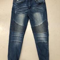 Versace V1969 Italia Abbigliamento Biker Moto Jeans 34 X 32 Pants Photo