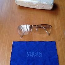 Versace Versus Designer Outdoor Glasses L55 Col 26m/ 235 Italy Photo