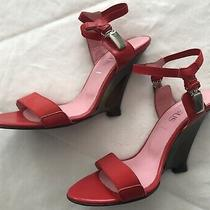 Versace Versus Womens Heels/wedge Size 38 Size 8-8.5 Photo