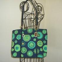 Versace Vintage Handbag Tote With Matching Accesories Black Multi Photo