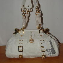 Versace White Leather Handbag (Collection) Photo