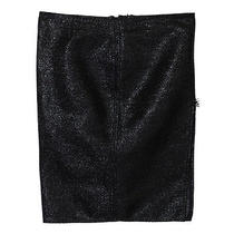 Versace Women's Black See Through Pencil Skirt Us 2 It 38 Photo