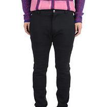 Versace Wool Black Casual Pants Us 32 Eu 48 Photo