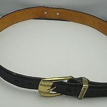 Versage Leather  Belt Italy   Photo