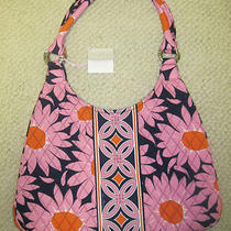 Very Bradley Loves Me Large Hobo Purse Shoulder Bag Cancer Awareness Retired Nwt Photo