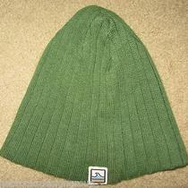 Very Cool Hollister Hco Green Beanie Hat Cap  Photo
