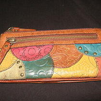 Very Nice Fossil Multi-Color Leather Pocket Book Wallet Photo