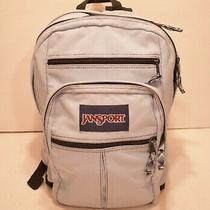 Very Nice Large 4 Pocket Jansport Student Backpack Light Powder Blue  Photo