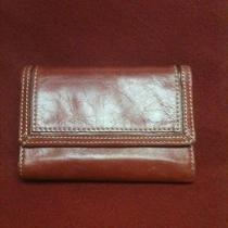 Very Nice Red Leather Fossil Wallet Photo