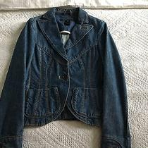 Very Pretty Marc Jacobs Women's Denim Blazer Size2/uk 6 Photo