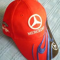 Very Rare Mercedes Truck Auto Car Racing Quality Red Beautiful Fancy New Hat Cap Photo