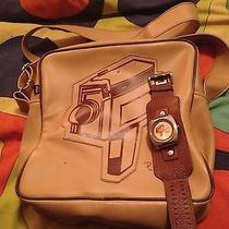 Very Rare Paul Frank Movie Camera Bag and Matching Watch Vintage Photo