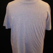Very Soft Solid Heather Gray Hugo Boss Mens Ss Shirt T L Photo
