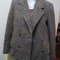 Very Trendy Marc by Marc Jacobs Wool Plaid Career Blazer M Photo