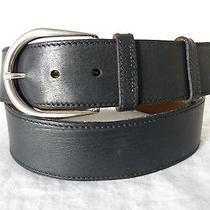Vg Classic Miu Miu Black Contour Belt - 36