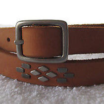 Vg Gorgeous Madewell Brown Leather Belt -S  A4511  Photo