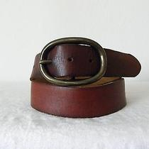 Vg Heavy Duty Brown Mossimo Supply Co Genuine Leather Belt -
