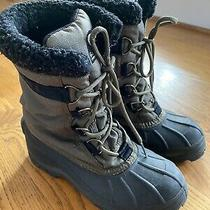 Vguc Sorel Cumberland Thinsulate Size 6 Olive /black Snow Boots Adult Size Photo