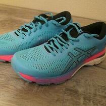 Vguc Womens Asics Gel-Kayano 25 Running Shoes Blue/pink Sz 10m Photo