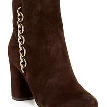 Via Spiga 'Cynthia' Women's Designer Brown Suede Leather Boots Shoes 9 Us/41 Eu  Photo