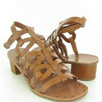Via Spiga Federica Tan Sandals Womens Size 8.5 M New 195 Photo