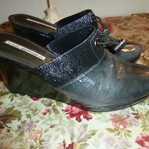 Via Spiga Gray Leather Clogs Size 8 1/2 M Photo