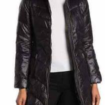 Via Spiga Quilted Puffer Jacket L Black New Photo