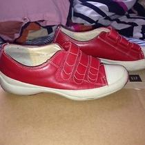 Via Spiga Red Sneakers Red 6.5 Photo