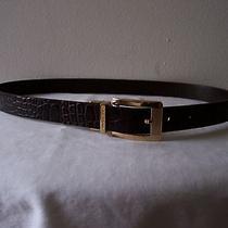 Via Spiga Reversible Leather Belt Photo