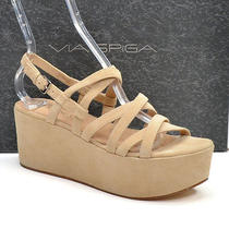 Via Spiga Robin Suede Strappy Platform Sandals Shoes Womens 8.5 M New in Box Photo