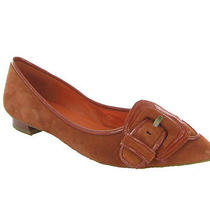 Via Spiga Sexy Burnt Orange Flats Womens Size 8 M New 198 Photo
