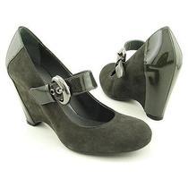 Via Spiga Tai Grey Wedges Shoes Size 7.5 M Nib (Size 7) Photo