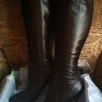Via Spiga Tall Brown Calf Leather Boots - Piper 8m Photo