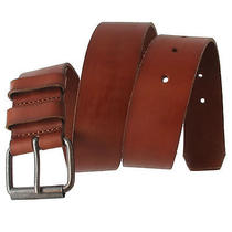 Via Spiga Tan Classic Genuine Leather Mens Belt Size 42 Photo