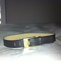 Via Spiga Women's Belt Brown Leather Pretty Size Small Photo