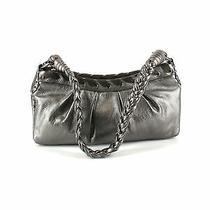 Via Spiga Women Silver Leather Shoulder Bag One Size Photo
