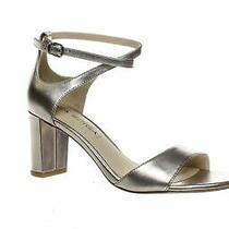 Via Spiga Womens Wendi Rose Gold Ankle Strap Heels Size 5 (899529) Photo