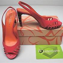 Via Spiga Zabrina2 Poppy Open Toe Slingback Wedding Heels Sandals Shoe Size 8 Photo