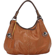 Vicenzo Leather Lisa Italian Leather Hobo - Brown Photo