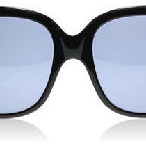 Victoria Beckham Audrey Black Black Sunglasses Photo