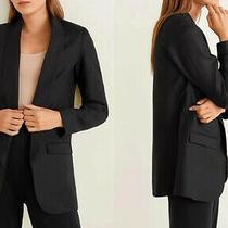 Victoria Beckham Open Blazer Navy Size 12  Photo