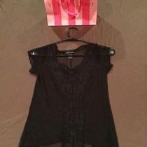 Victoria's Secret Black See Through Top Size Small Photo