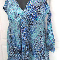 Victoria's Secretblue Babydoll Teddy Nightiematching Pantieswomen's Small Photo