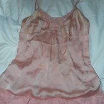 Victoria's Secret Blush Pink Lace Nighty Night Gown Size Medium Photo