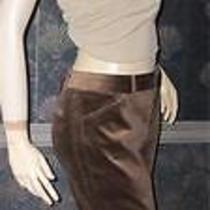 Victoria's Secret Brown Christie Fit Velvet Pants 8 Photo