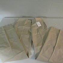 Victoria's Secret Christie Flare Pant Solid Beige Bone 8 Long Nwot Photo