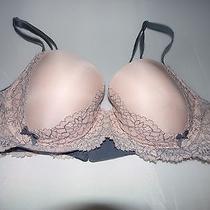 Victoria's Secret Dream Angels Lined Demi Bra Size 34d Lace Free Ship Photo