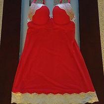 Victoria's Secret Embellished Bling Push Up Nightie. 34c. Super Cute Photo