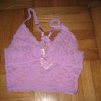 Victoria's Secret Lacie Wireless Violet Purple Bra Size Xs 32a 32b Nwt  Photo