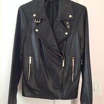 Victoria's Secret Leather Jacket Photo
